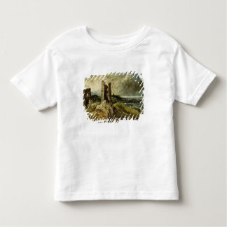 Sketch of Hadleigh Castle (recto) (oil on millboar Toddler T-shirt