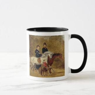 Sketch of Queen Victoria, The Prince Consort & HRH Mug