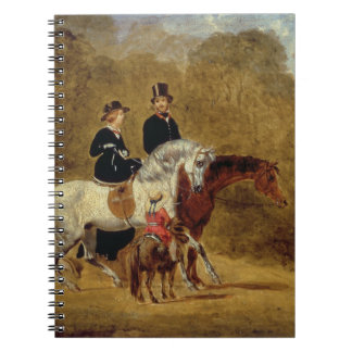 Sketch of Queen Victoria, The Prince Consort & HRH Notebook