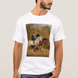 Sketch of Queen Victoria, The Prince Consort & HRH T-Shirt