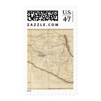 Sketch of the Internal Provinces of New Spain Postage Stamp