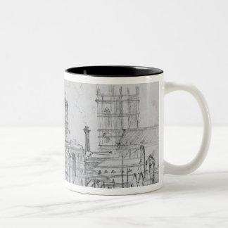 Sketch of Westminster, 1860 Coffee Mugs