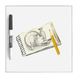 Sketch Pad Drawing Dry Erase Boards