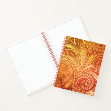 USA Themed Sketch Pad Notebook-Flora Notebook