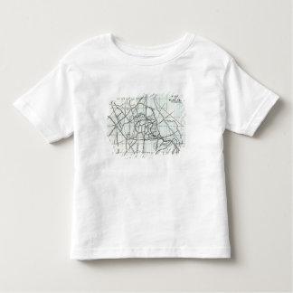 Sketch Plan of the Hackney Brook Toddler T-shirt