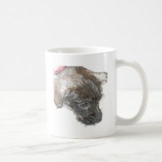 sketch puppy lizzy coffee mugs