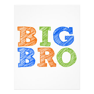 Sketch Style Big Bro Letterhead