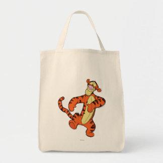 Sketch Tigger Grocery Tote Bag
