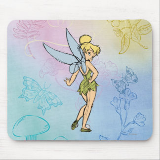 Sketch Tinker Bell 2 Mouse Pad