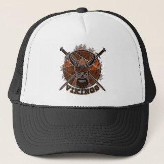 Sketch Viking skull Trucker Hat