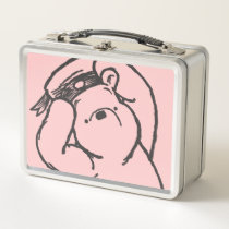Sketch Winnie the Pooh 1 Metal Lunch Box