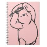 Sketch Winnie the Pooh 1 Spiral Note Book