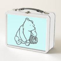 Sketch Winnie the Pooh 2 Metal Lunch Box