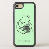 Sketch Winnie the Pooh 3 OtterBox Symmetry iPhone 7 Case