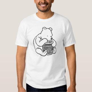 Sketch Winnie the Pooh 3 Tee Shirt