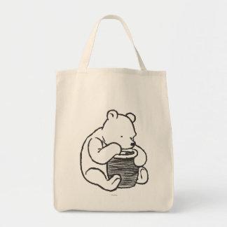 Sketch Winnie the Pooh 3 Tote Bag