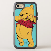 Sketch Winnie the Pooh OtterBox Symmetry iPhone 7 Case
