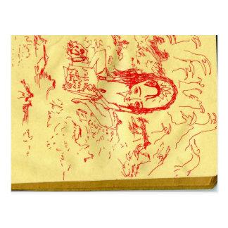 Sketchbook 1 postcard