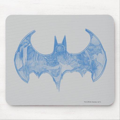 Sketchbook 2 de Batman Alfombrillas De Raton
