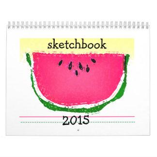 Sketchbook calendar II