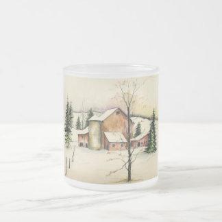 Sketchbook Classic Art- 1-mug Frosted Glass Coffee Mug