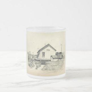 Sketchbook Classic Art-2-mug Frosted Glass Coffee Mug