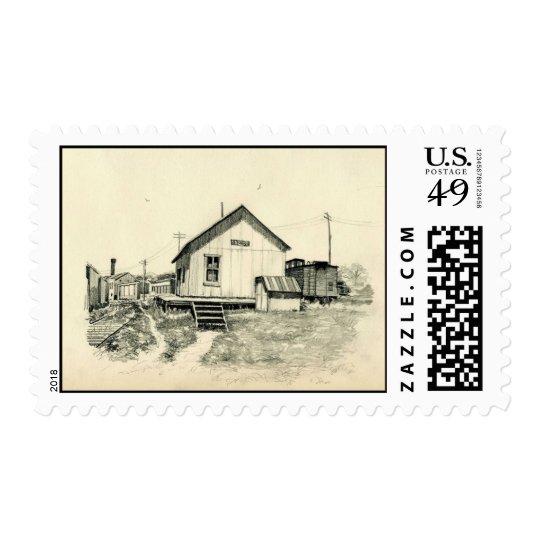 Sketchbook Classic Art-2-stamps Postage