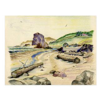 Sketchbook Classic Art-6-postcard Postcard