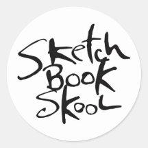 Sticker-Racebook sketchbook