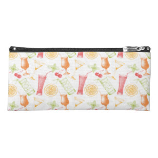 Sketched Cocktail Pattern Pencil Case