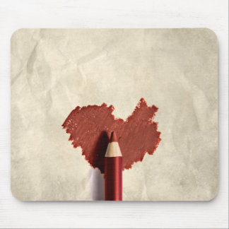 Sketched Heart - Mousepad