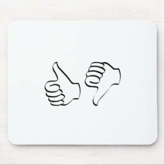 Sketched like unlike icon mouse pad