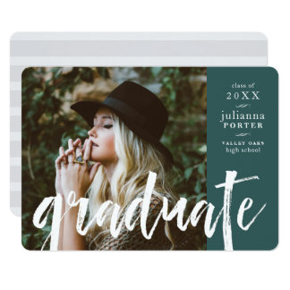 Sketched Overlay Graduation Party Invite | Jade