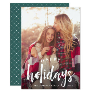Sketched Overlay | Holiday Photo Card