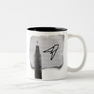 Sketchfighter 4000 Alpha Two-Tone Coffee Mug