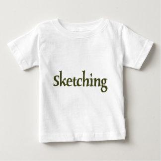 Sketching Baby T-Shirt