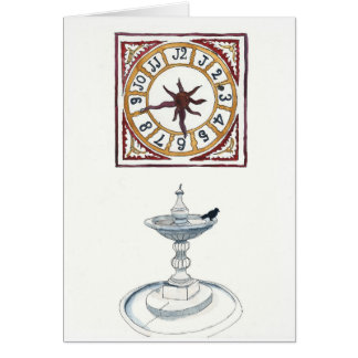 Sketching Castelvecchio in Verona, Italy Card