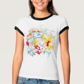 Sketchy Animals Aleloop Shirt