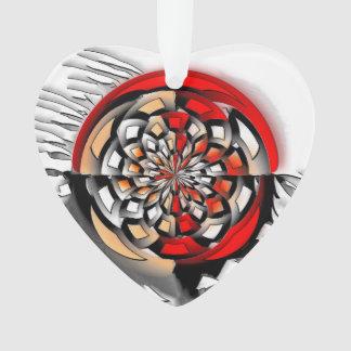 Sketchy art ornament