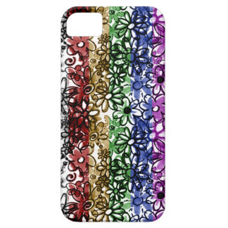 Sketchy Blooms - iPhone 5 Case