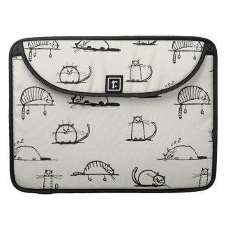 Sketchy cats MacBook pro sleeve