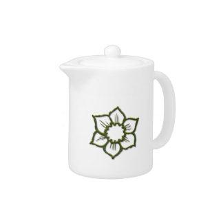 Sketchy Daisy Teapot
