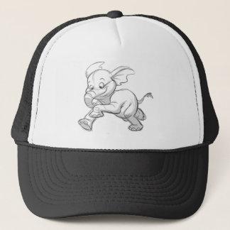 Sketchy Elephant Trucker Hat