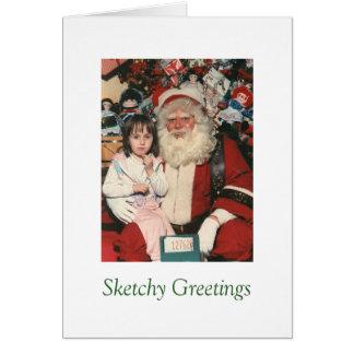 Sketchy Greetings #6 Card