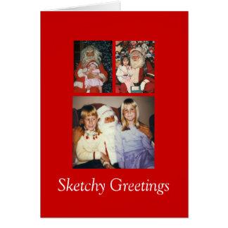 Sketchy Greetings #7 Card