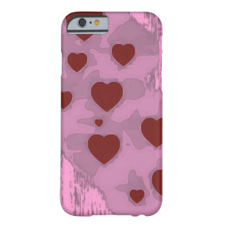 Sketchy Hearts Barely There iPhone 6 Case