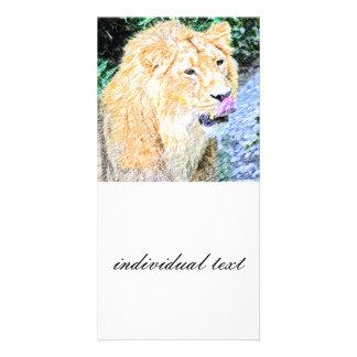 sketchy lion king card