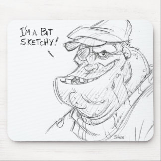 Sketchy Mouse Mat