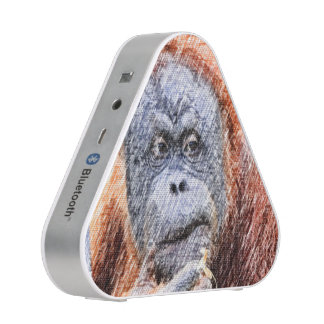 sketchy orang bluetooth speaker