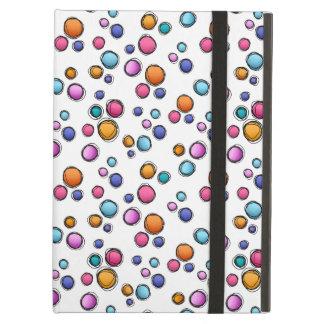 Sketchy Random Dots Cover For iPad Air